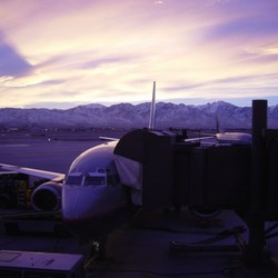 Salt Lake City Airport Sunrise