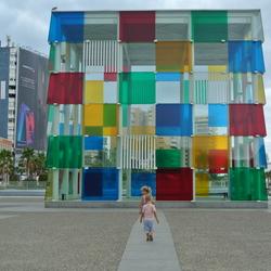 Pompidou museum in Malaga
