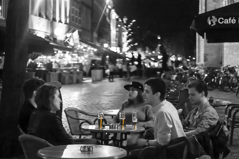Bredase nachten @ Helios - Op de avond van ons uitstapje naar station Breda zijn Johan en ik ook nog even de stad in geweest. Het was een heerlijke av