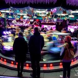 Carrousel op kerstmarkt Dortmund