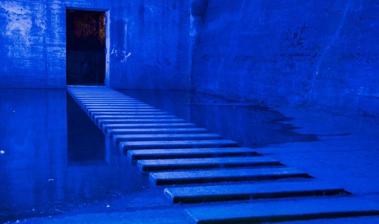 perspectief in blauw 2 -