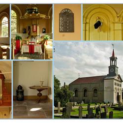 Rotondekerk in Terband, bij Heerenveen