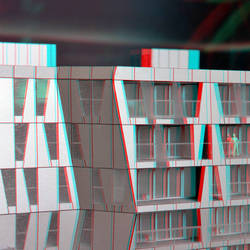Achitectural Model Calypso-building 3D