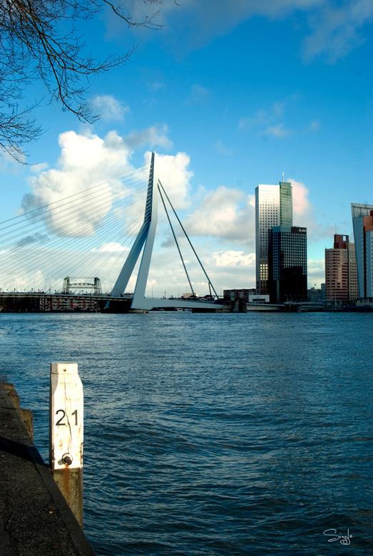 Rotterdam serie 2(24) - Rotterdam Erasmusbrug.