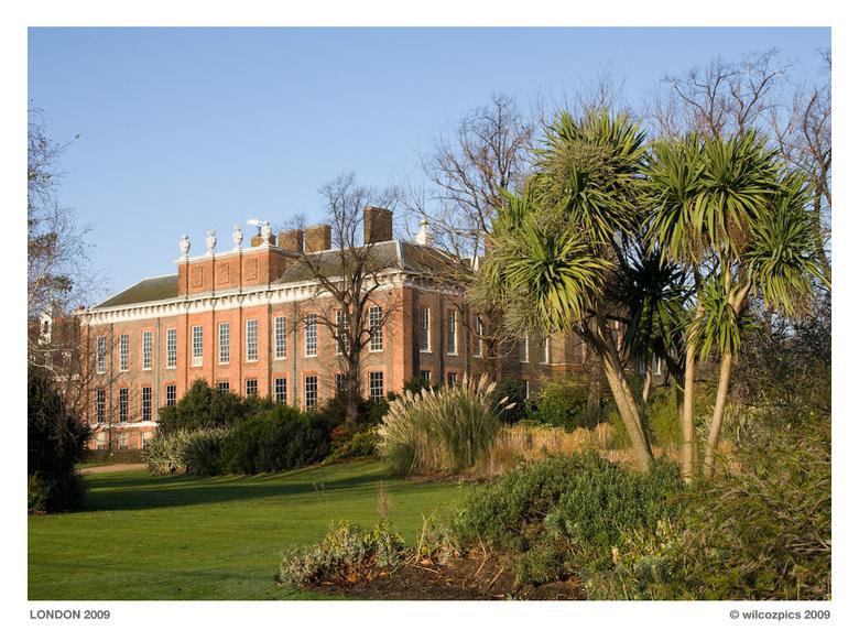 Kensington Palace - Het paleis van wijlen Prinses Diana.
