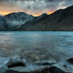 Storm over Convict Lake