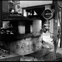 Verlaten steenfabriek...