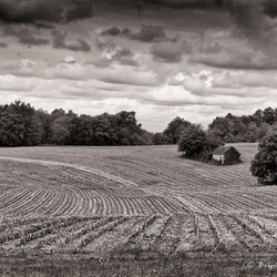 Dordogne in Black&White