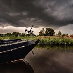 Molen en boot