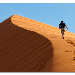 'Climbing Dune45'