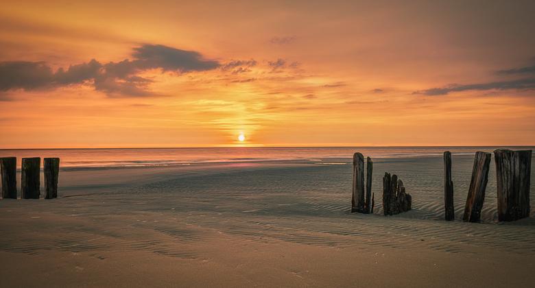One Beautiful Evening - Aan de Noordzee bij Hollum, Ameland