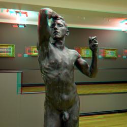 Rodin in Gemeentemuseum Den Haag 3D