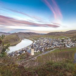 Uitzicht over Bremm - Moezel