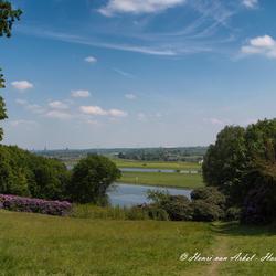 Uitzicht Rijn-Landgoed Duno