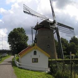 Verscholen molen in Maassluis
