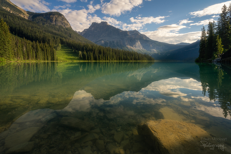 Peaceful morning - Een rustige ochtend in Yoho National Park