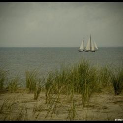 Een boot op de foto of schilderij?