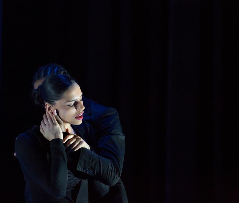 Tabula Rasa van Isabelle Beernaert - Onlangs de dansvoorstelling Tabula Rasa van de Belgische choreografe Isabelle Beernaert gefotografeerd