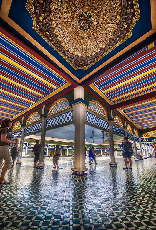 Het paleis van de sultan  - iedereen hartelijk bedankt voor de leuke en leerzame reacties op de vorige foto&#039;s<br /> <br /> Het Bahia paleis te