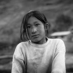 Peruvian girl