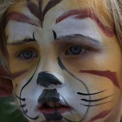 Oh wat een enge tijger