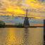 Er staan meer molens hoor op Kinderdijk