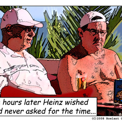 Heinz wished he had never...