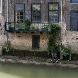 Dordrecht bij laag water