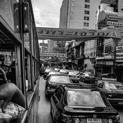 Yaowarat Road in Bangkok