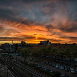 Zonsopkomst in Breda