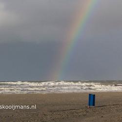 Regenboog in Hoek van Holland