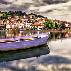 Ohrid harbour