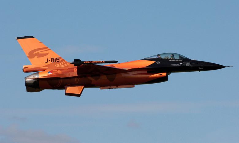 F-16AM (Luchtmachtdagen 2011) - Luchtmachtdagen 2011<br /> De toekomst hangt in de lucht<br /> 16 en 17 september op Vliegbasis Leeuwarden<br /> <b