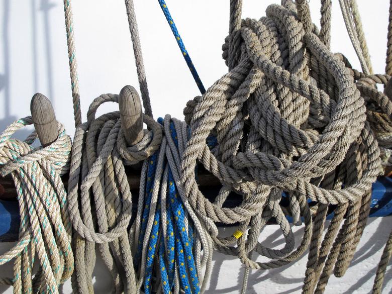 scheepstouw - Touw, touw en touw aan de IJssel in Kampen