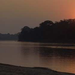 Amazone Sun Set