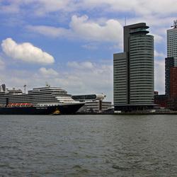 Sloepje op Rotterdam Zuid