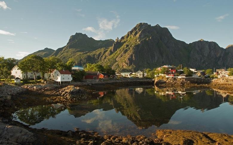 Svolvaer  - In het groot mooier!<br /> <br /> Enkele weken terug een busreis gemaakt naar de Scandinavische landen. Weinig<br /> (goede) foto&#039;