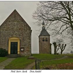 ned, hervkerk Den Andel