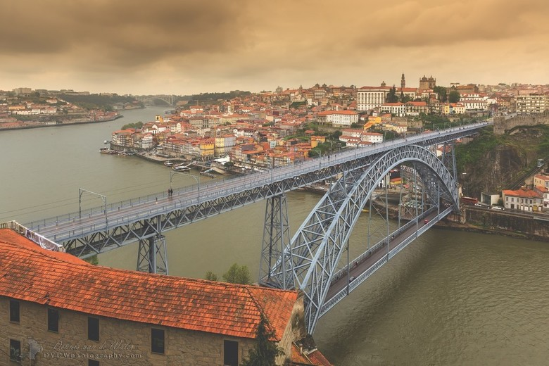 "Porto Ponte Luiz I stadsgezicht - <a href=""https://dvdwphotography.com/2019/06/04/porto-a-small-selection/"">https://dvdwphotography.com/2019/06/04/por"