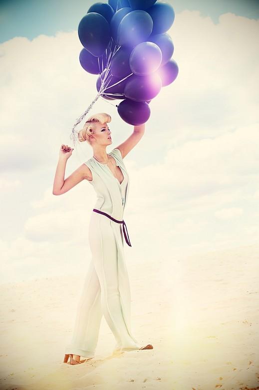 Electric Dreams - Shoot met model Danielle Hack