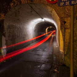 Tunnel onder Station III - Gent