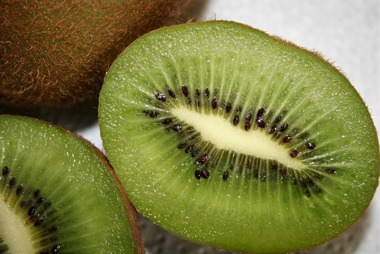 Kiwi - Zoet en sappig, gezonde mooi uitziende vrucht