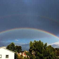 Bijna dubbele Regenboog