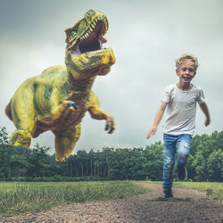 Encounter with a T-Rex