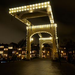Magere brug Amsterdam.