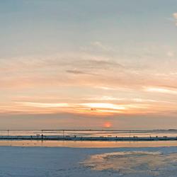 Winter in de haven