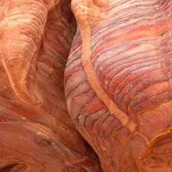Rotskleuren (Petra, Jordanie)