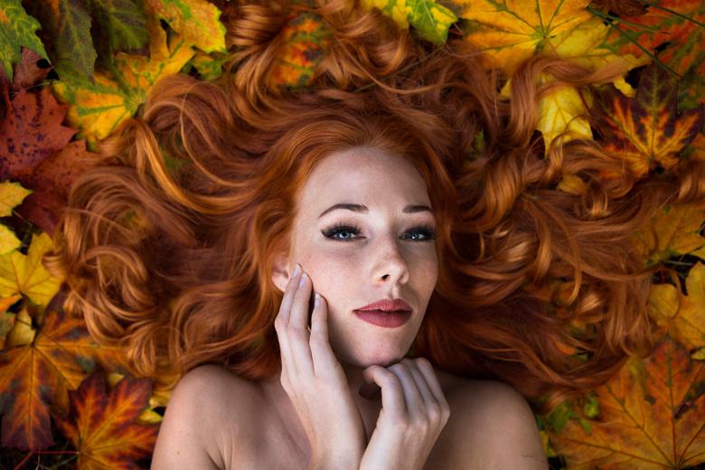 Herfst - Fotoshoot in het wassenaarse bos