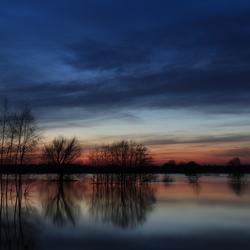Hoog water in Limburg