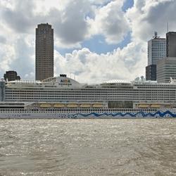 Het cruiseschip Aida.
